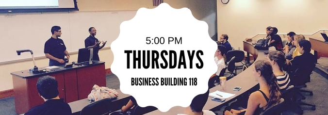 Enactus at USF Spring 2016 meetings on Thursdays at five o'clock in the business building room one hundred and eightteen